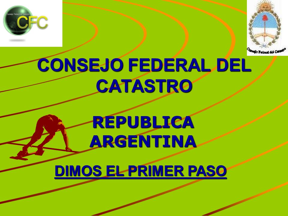 CONSEJO FEDERAL DEL CATASTRO