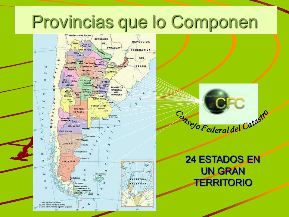 Provincias que lo Componen