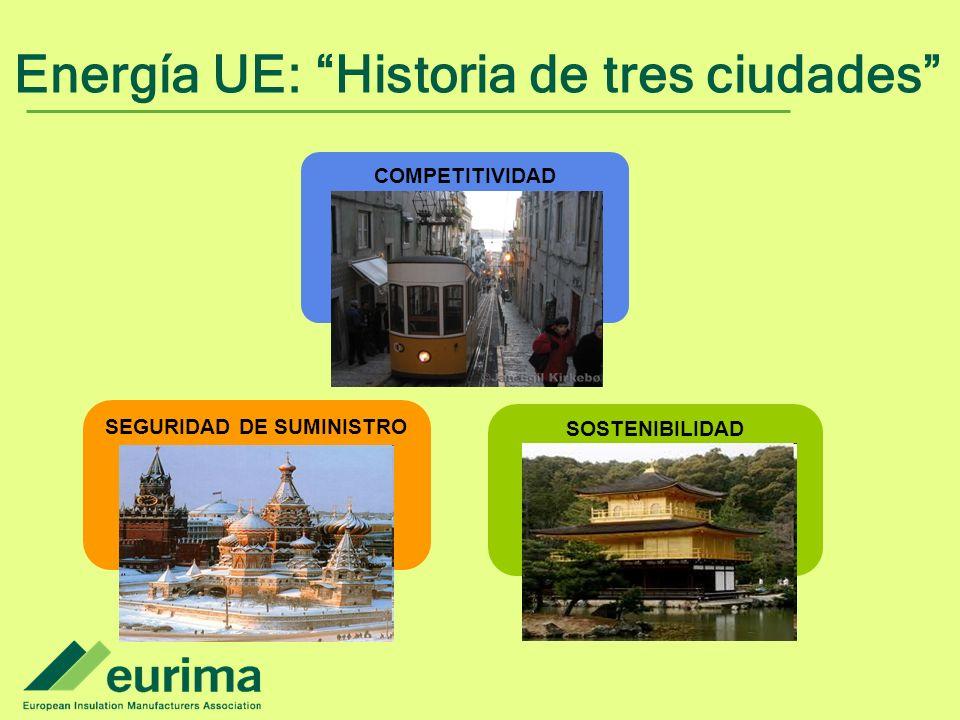 Energía UE: Historia de tres ciudades