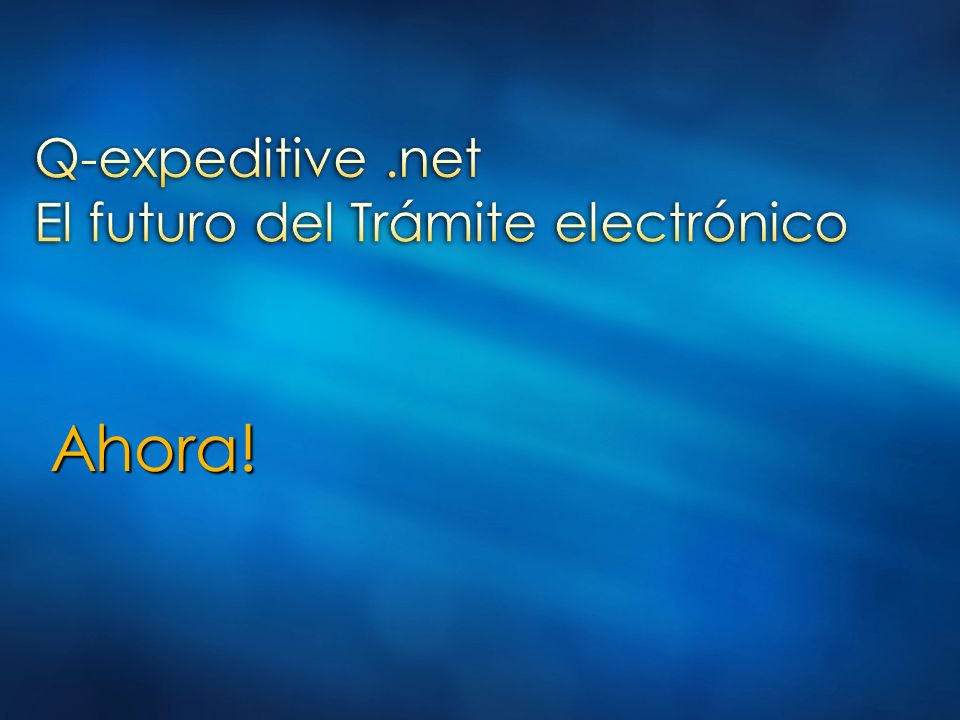 Presentación Gobierno Electrónico
