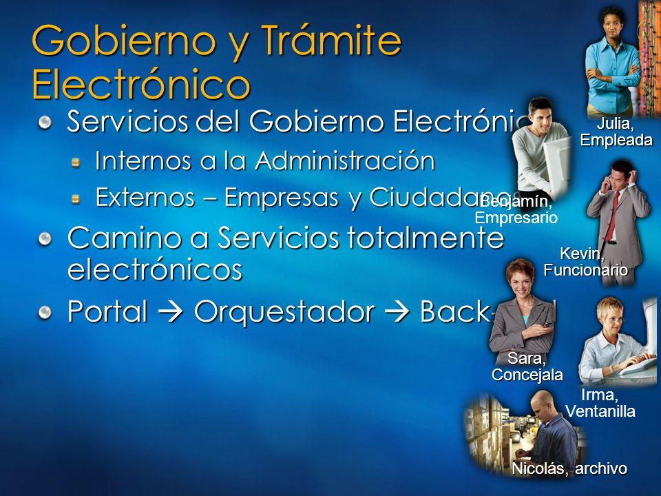 Gobierno y Trámite Electrónico