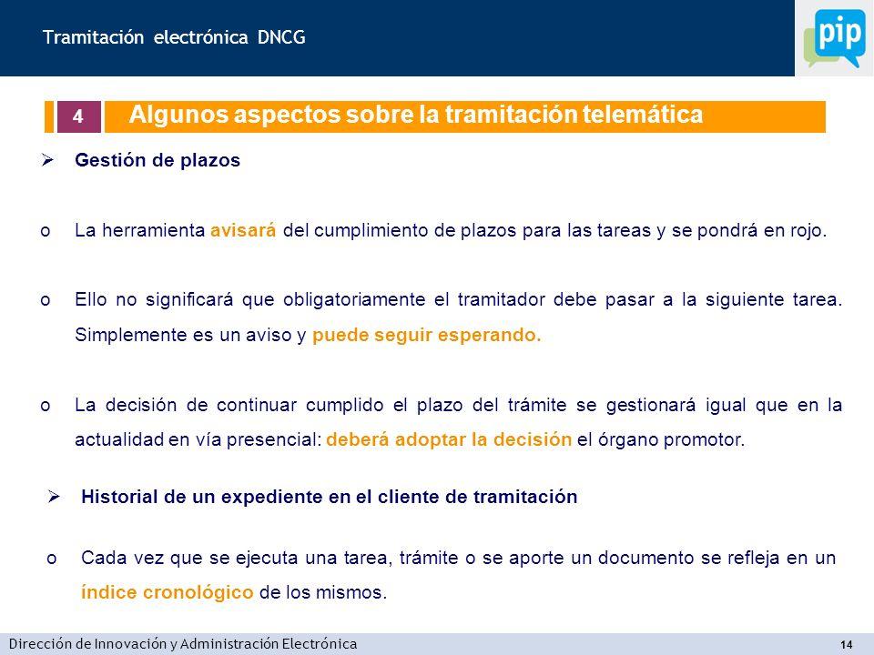 Tramitación electrónica DNCG