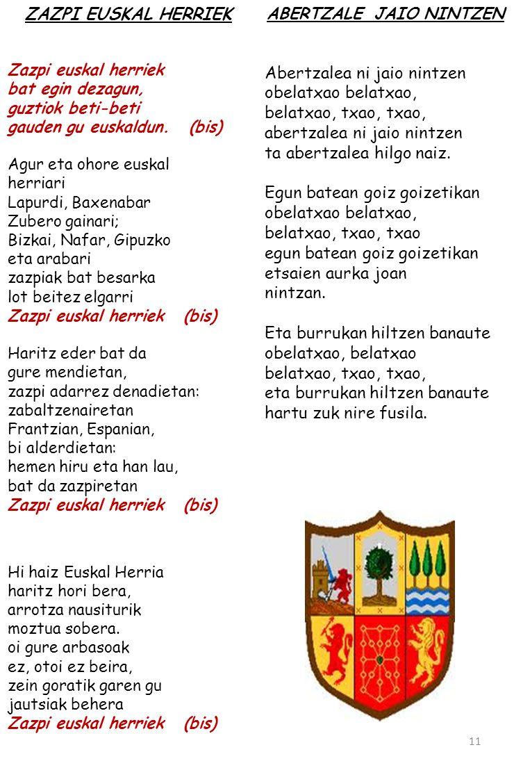 ABERTZALE JAIO NINTZEN
