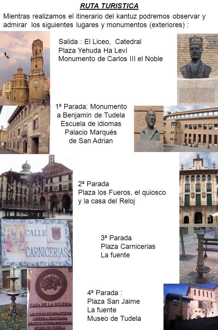 1ª Parada: Monumento a Benjamin de Tudela