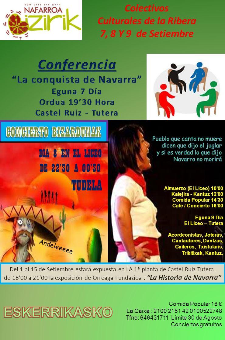 Culturales de la Ribera La conquista de Navarra