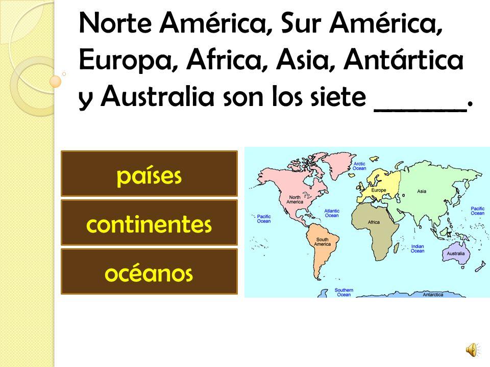 Norte América, Sur América,