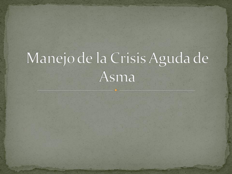 Manejo de la Crisis Aguda de Asma