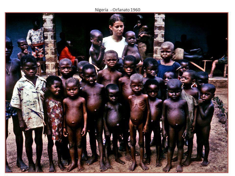 Nigeria - Orfanato 1960