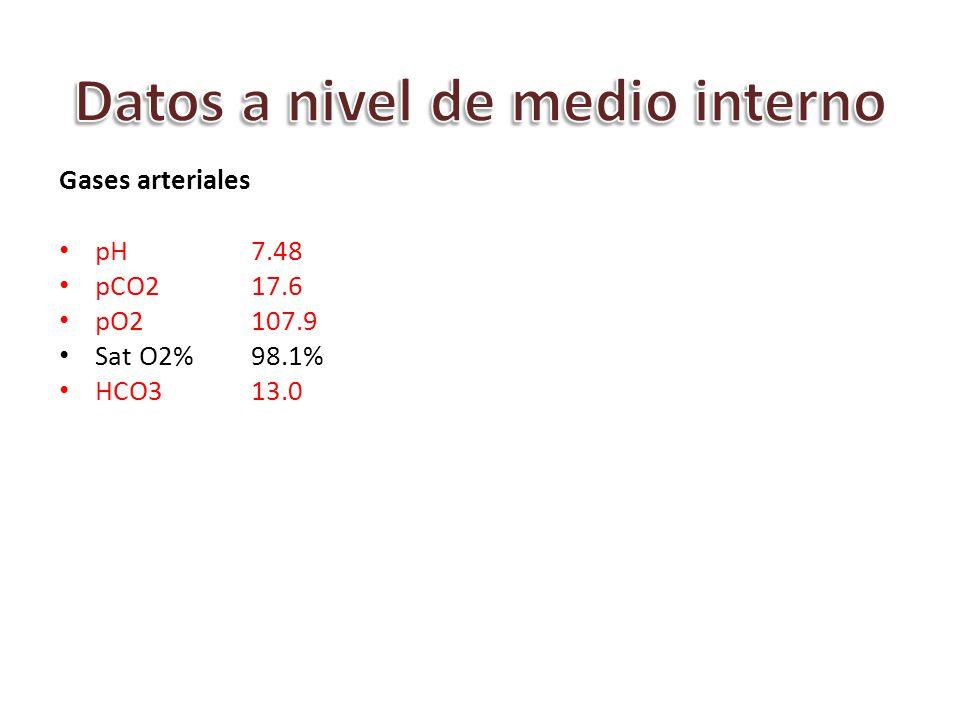 Datos a nivel de medio interno