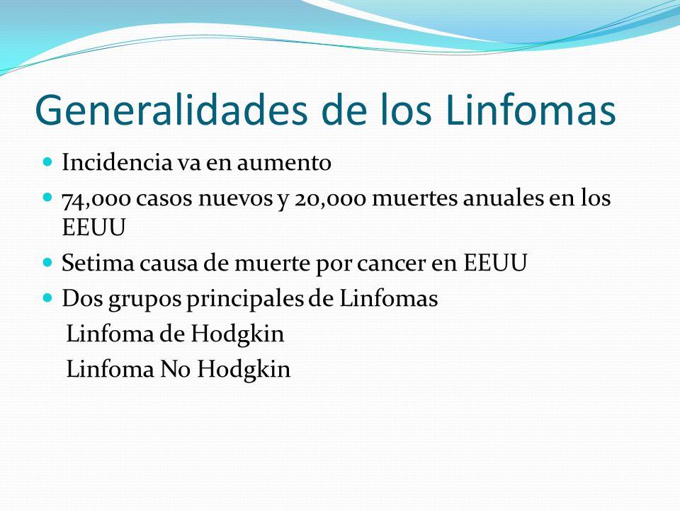 Generalidades de los Linfomas