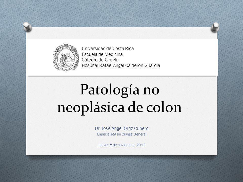 Patología no neoplásica de colon