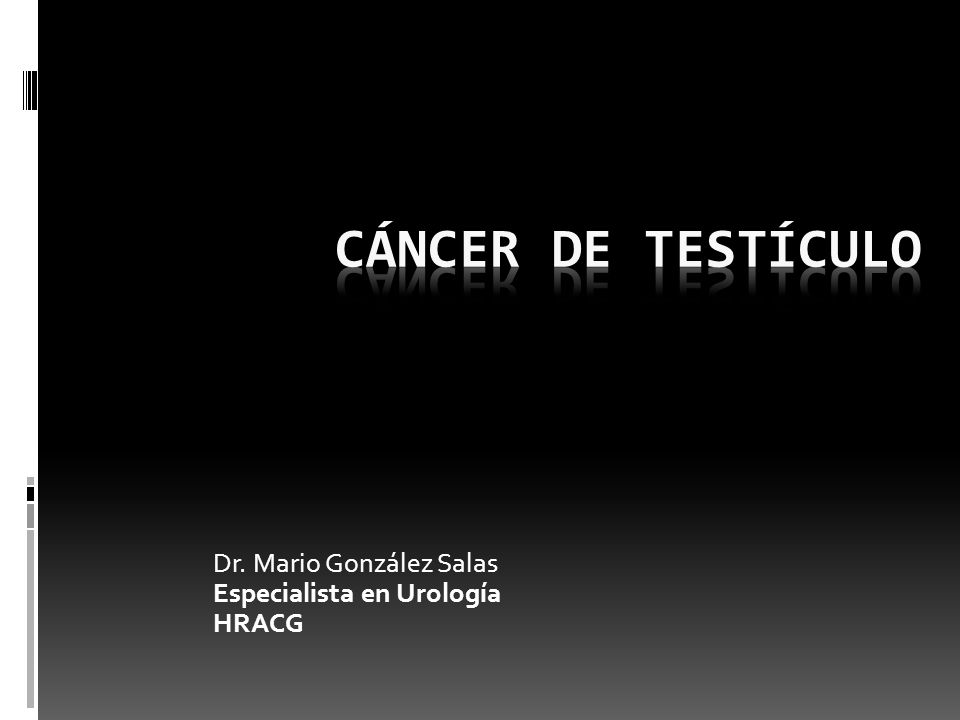 Dr. Mario González Salas Especialista en Urología HRACG