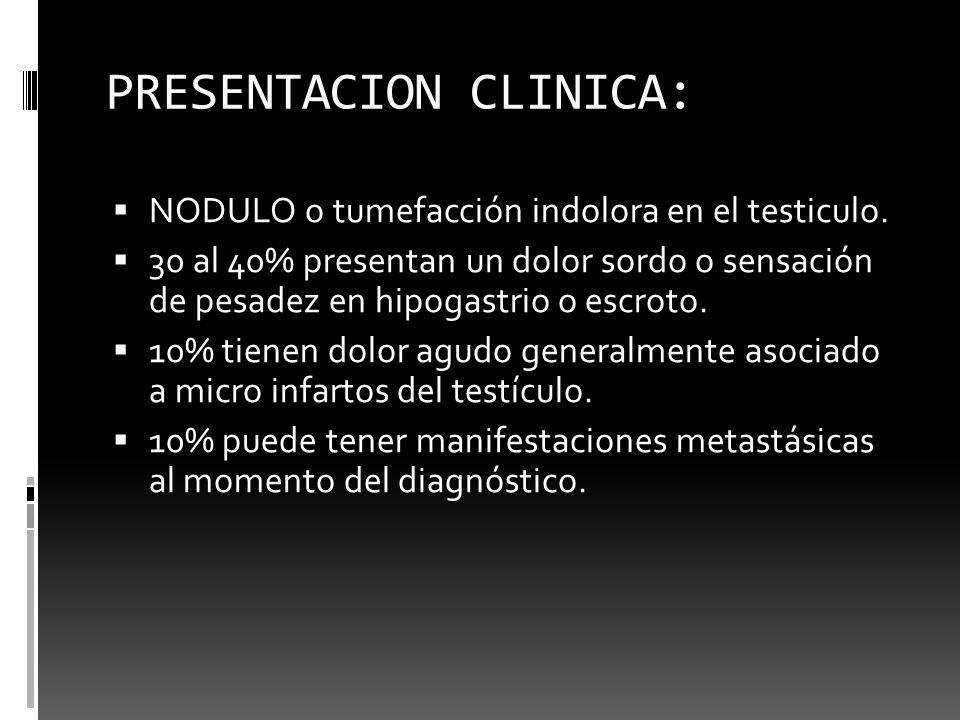 PRESENTACION CLINICA: