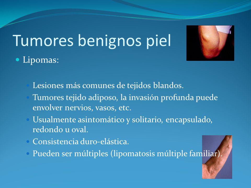 Tumores benignos piel Lipomas: