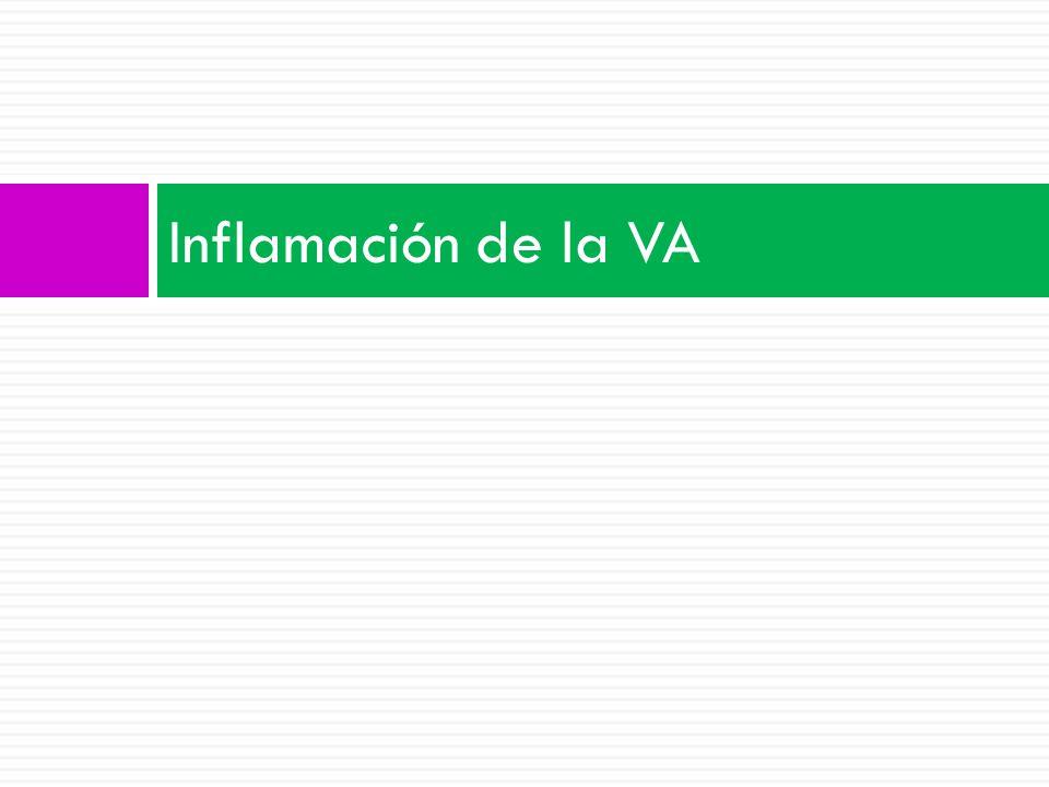 Inflamación de la VA