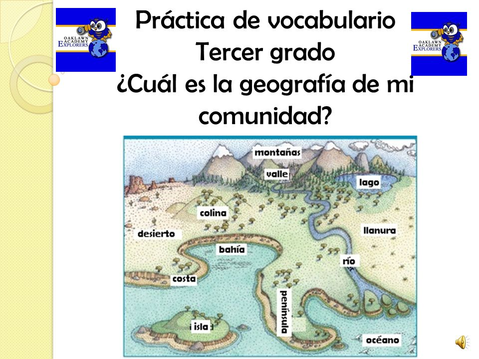 Práctica de vocabulario Tercer grado