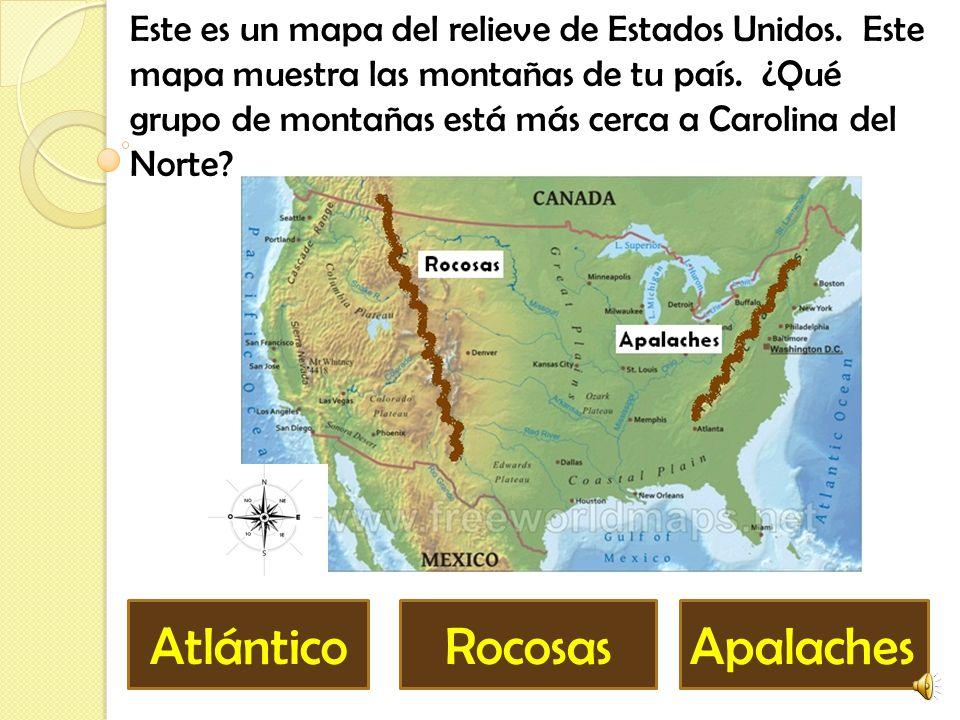Rocosas Apalaches Atlántico