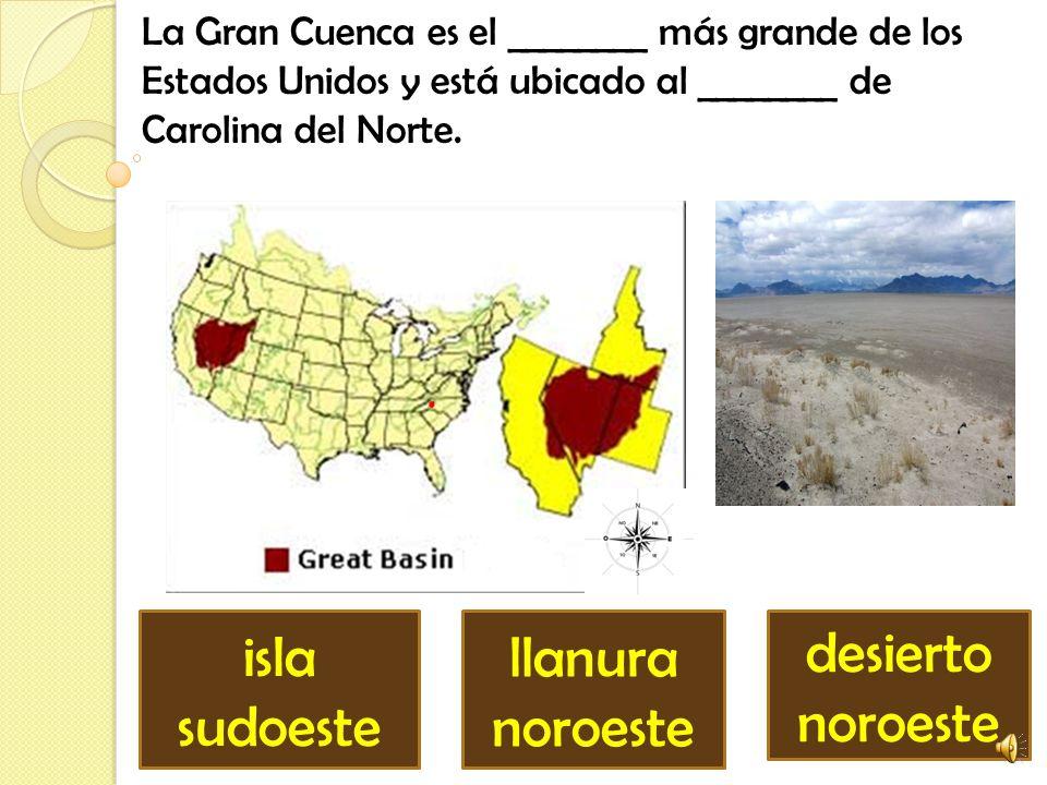 isla sudoeste llanura noroeste desierto noroeste