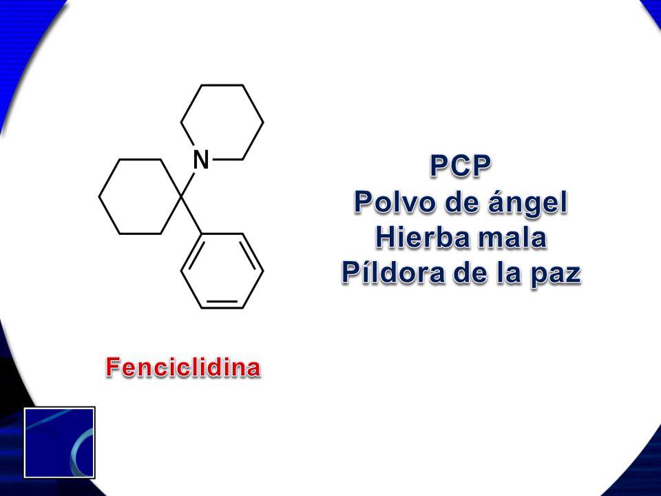 PCP Polvo de ángel Hierba mala Píldora de la paz