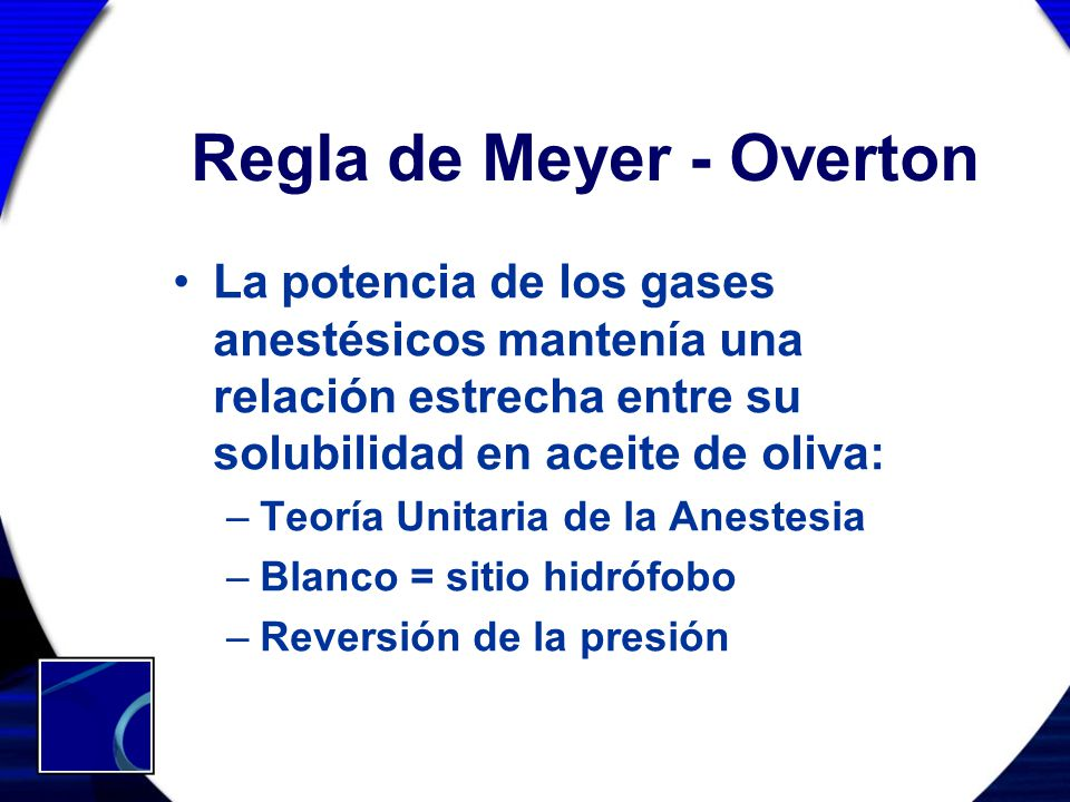 Regla de Meyer - Overton