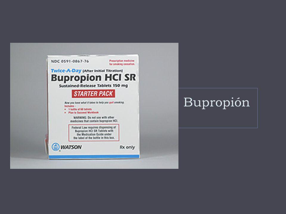 Bupropión