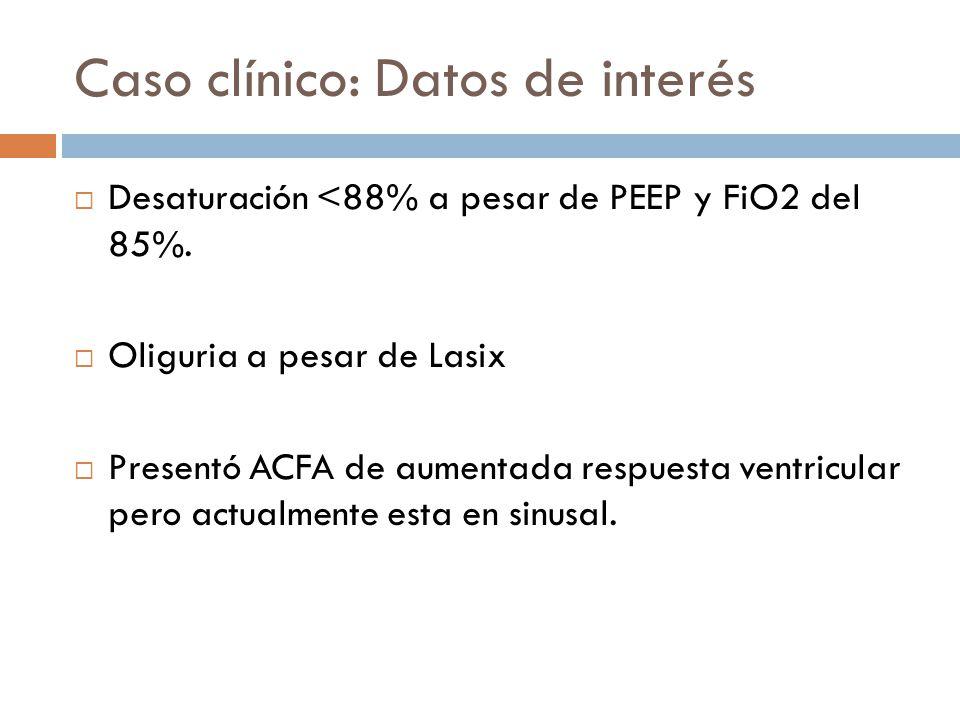 Caso clínico: Datos de interés
