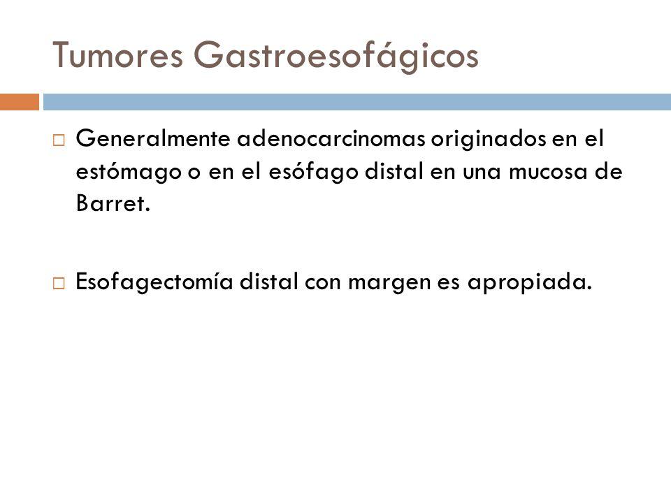 Tumores Gastroesofágicos