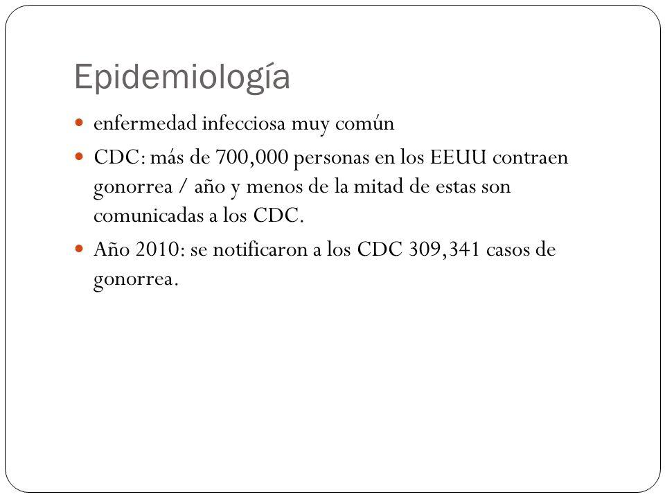 Epidemiología enfermedad infecciosa muy común