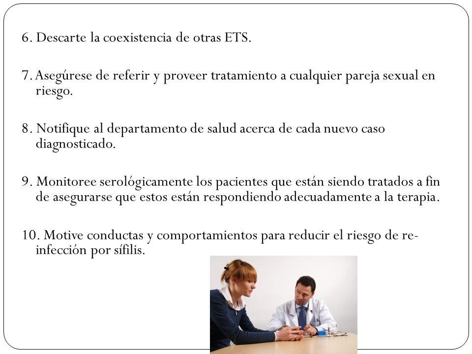 6. Descarte la coexistencia de otras ETS.