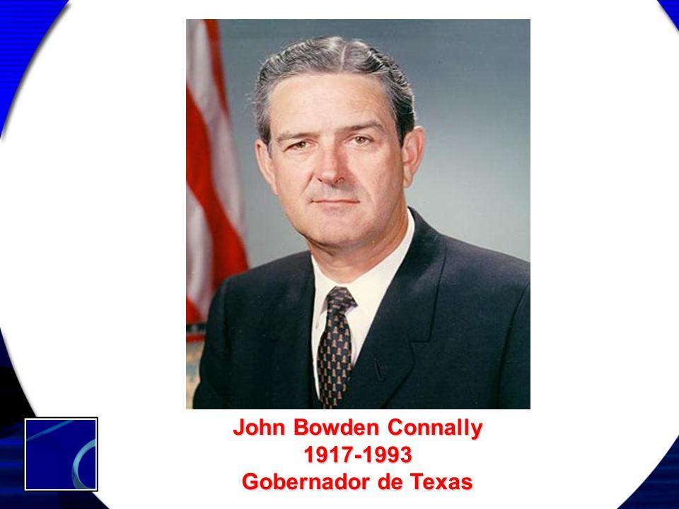 John Bowden Connally 1917-1993 Gobernador de Texas