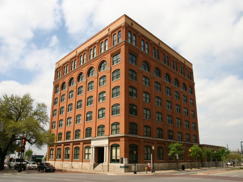 Dallas County Administration Building in 2005, formerly the Texas School Book Depository