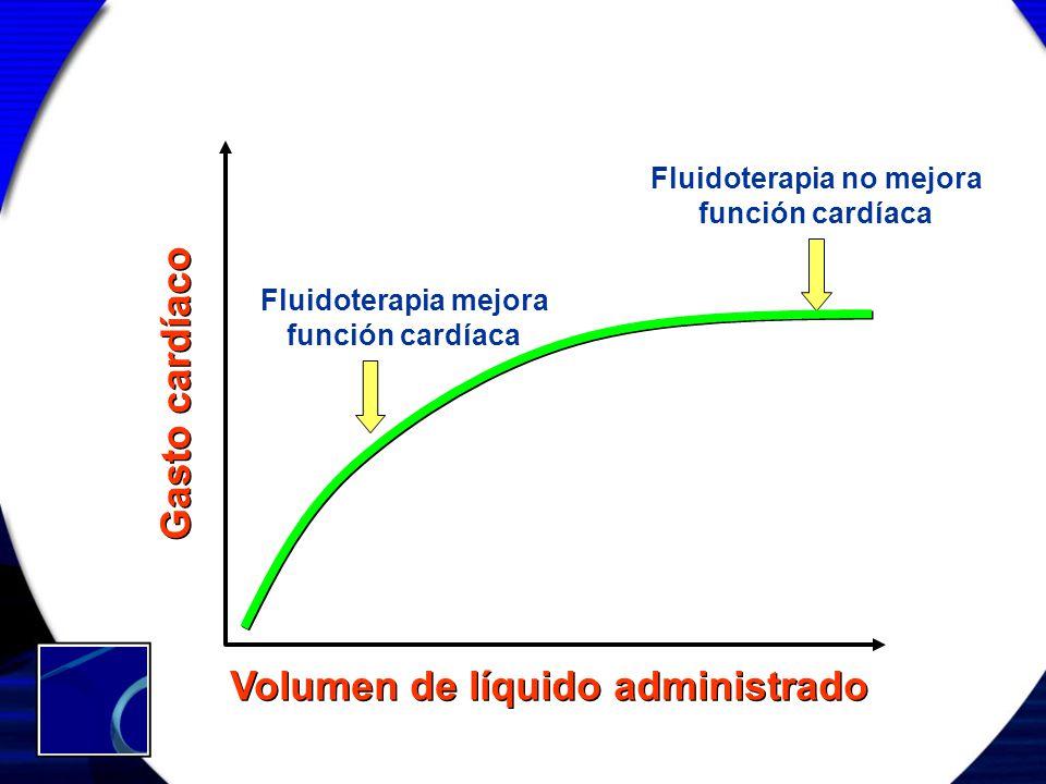 Fluidoterapia no mejora