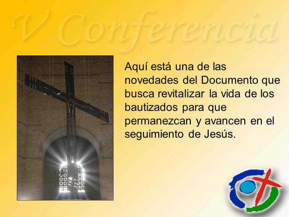 Aquí está una de las novedades del Documento que busca revitalizar la vida de los bautizados para que permanezcan y avancen en el seguimiento de Jesús.
