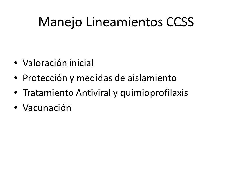 Manejo Lineamientos CCSS