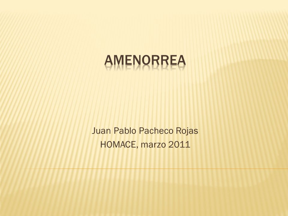Juan Pablo Pacheco Rojas HOMACE, marzo 2011