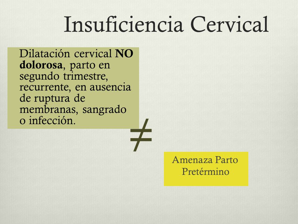 Insuficiencia Cervical