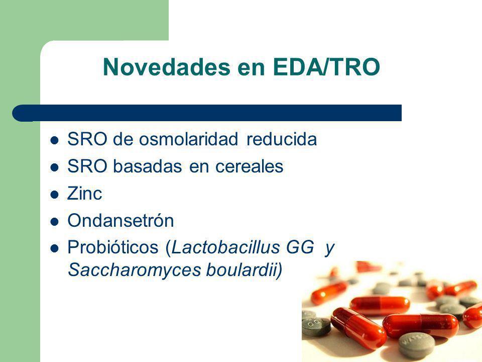 Novedades en EDA/TRO SRO de osmolaridad reducida