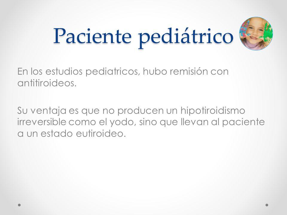 Paciente pediátrico