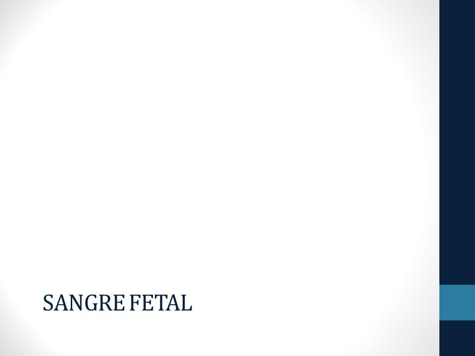 Sangre Fetal