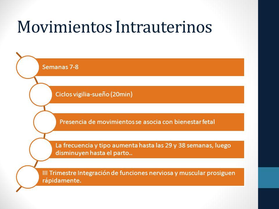 Movimientos Intrauterinos