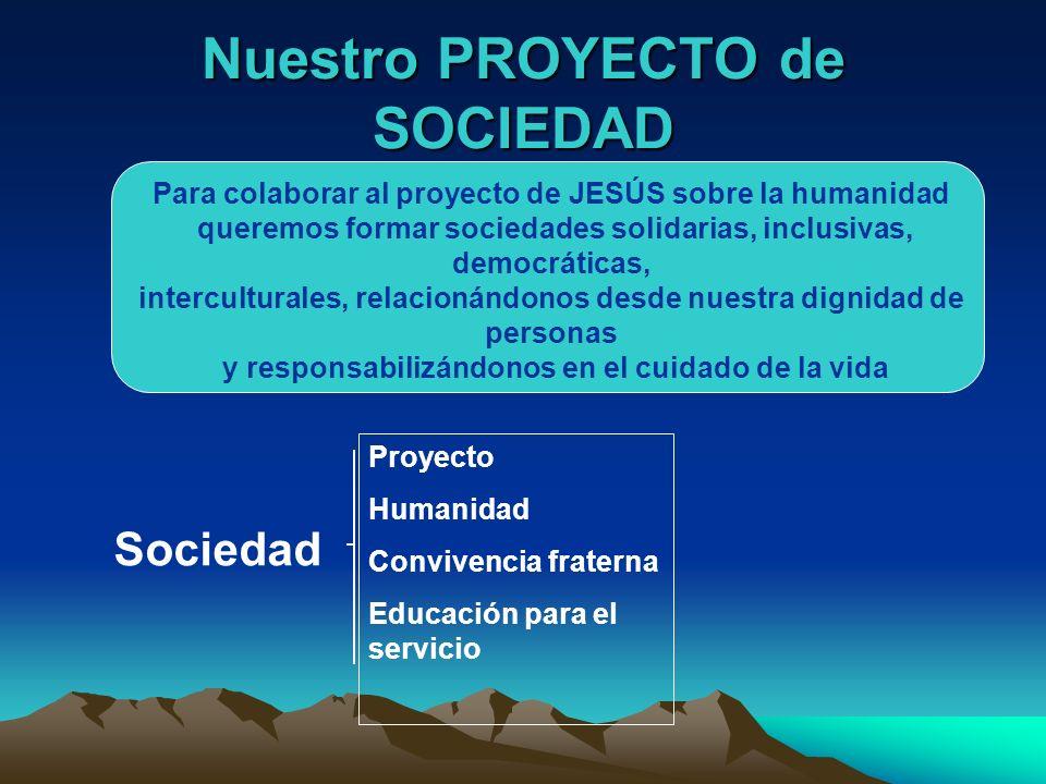Nuestro PROYECTO de SOCIEDAD