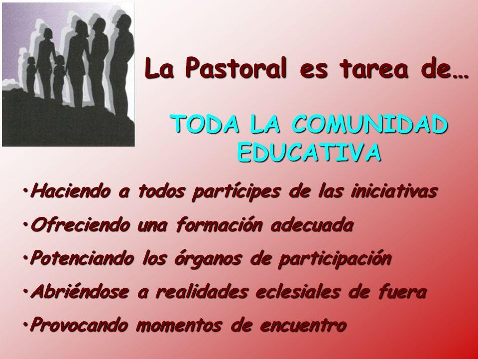 La Pastoral es tarea de…