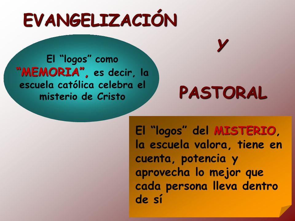 EVANGELIZACIÓN Y PASTORAL