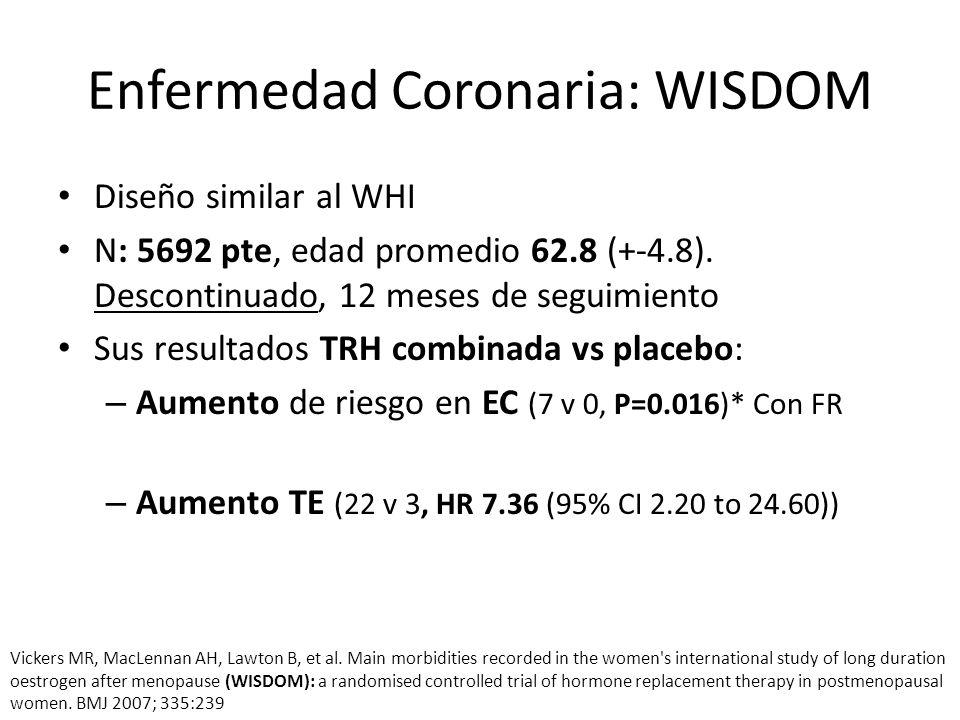 Enfermedad Coronaria: WISDOM