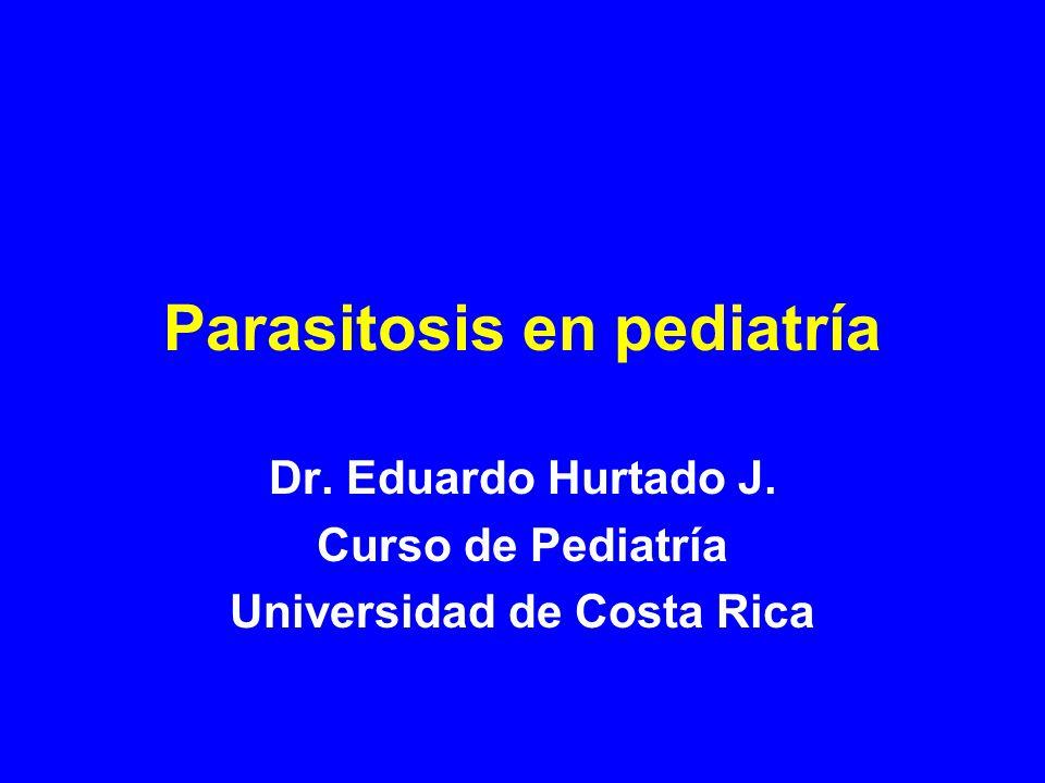 Parasitosis en pediatría