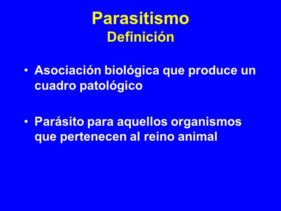 Parasitismo Definición