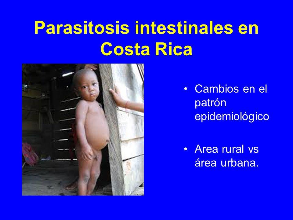 Parasitosis intestinales en Costa Rica