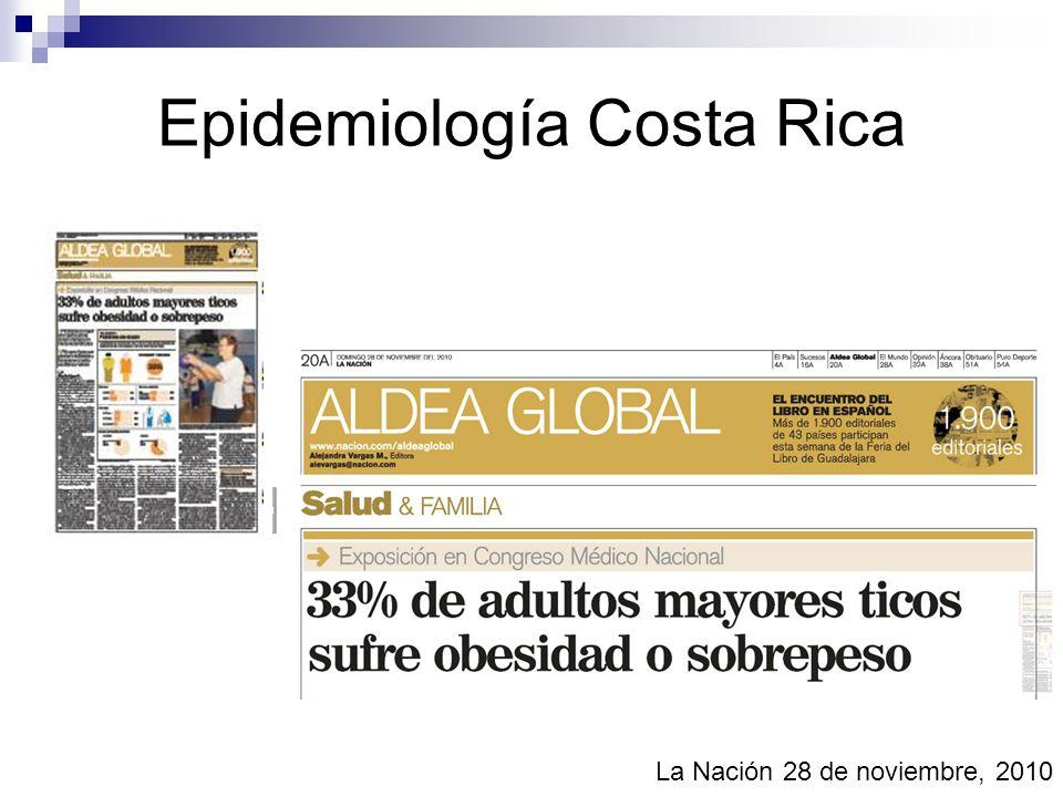 Epidemiología Costa Rica