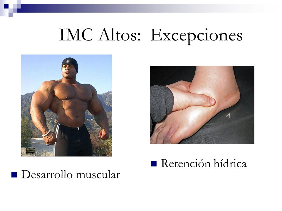 IMC Altos: Excepciones
