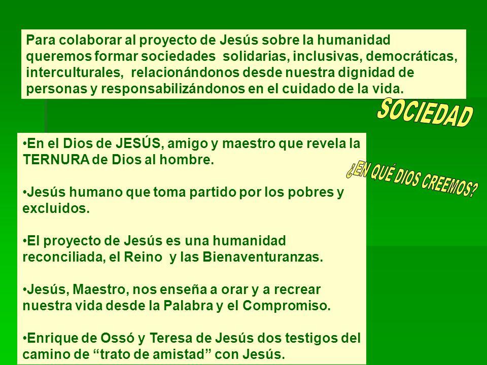 SOCIEDAD ¿EN QUÉ DIOS CREEMOS